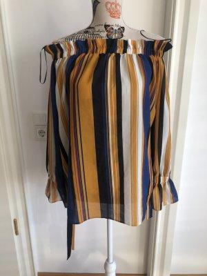 K.Zell Carmen blouse veelkleurig