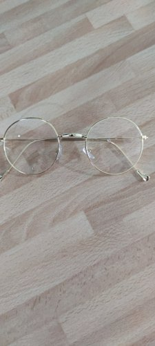 Okulary złoto