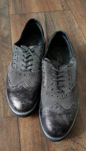 5th Avenue Zapatos brogue gris antracita