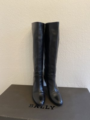 Bally High Heel Boots black leather