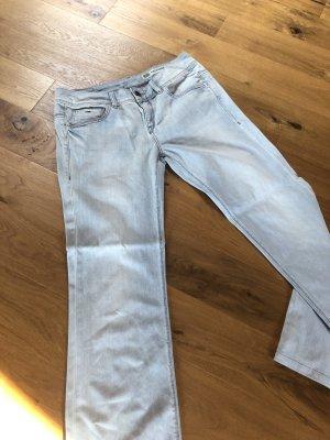 Tommy Hilfiger Denim Jeans a gamba dritta azzurro