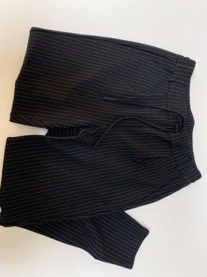 Noisy May Pantalone a pieghe nero-bianco
