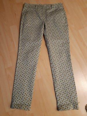 Promod pantalón de cintura baja multicolor poliamida
