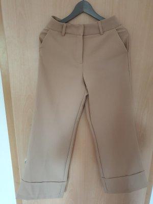Schicke Hose/ Anzugshose/ Beige Hose/ weite Hose