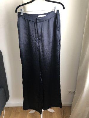NA-KD Spodnie Marlena ciemnoniebieski-niebieski