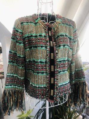 Atos Lombardini Tweed Blazer multicolored cotton