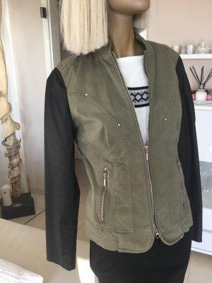 Comma Military Jacket khaki-black