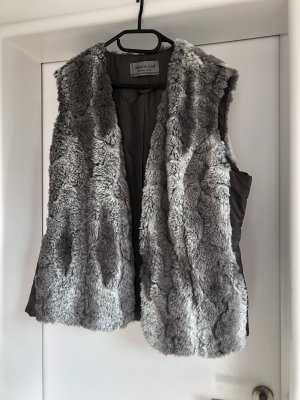 Jacket & Coat Chaqueta de piel sintética gris