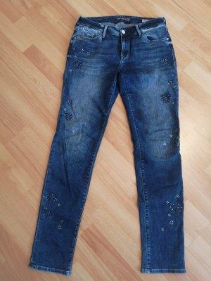 Mavi Jeans Co. Jeans boyfriend bleu