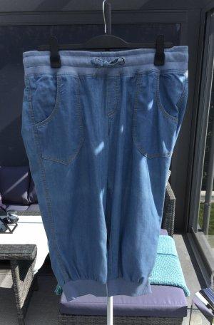 100% Fashion Pantalon large bleuet