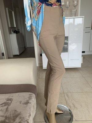 Schicke Jeggings .. super Stretchhose  .. Slim .. beige .. Gr. 34/36 # Schiffhauer München # blogger