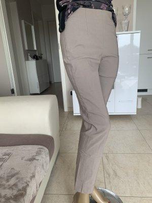 Schicke Jeggings .. super Stretchhose  .. Slim .. dunkelbeige .. Gr. 36/38 # Schiffhauer München # blogger