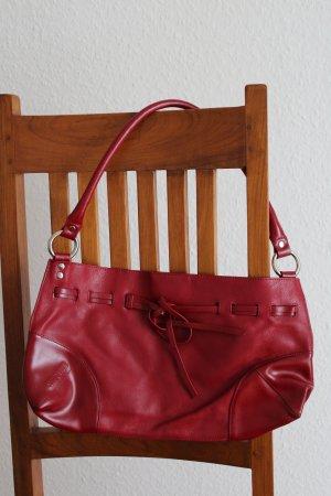 Schicke kleine Leder  Handtasche
