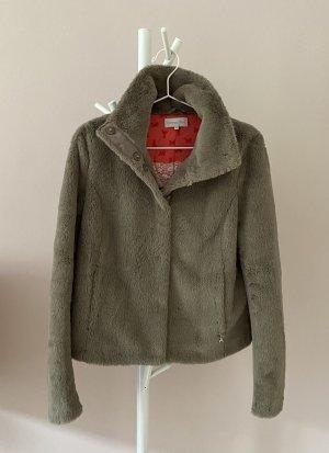 Patrizia Pepe Fur Jacket grey polyester