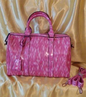Bowling Bag white-pink