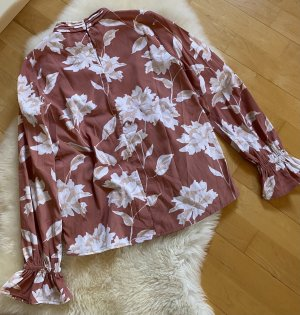 Pieces Long Sleeve Blouse multicolored polyester