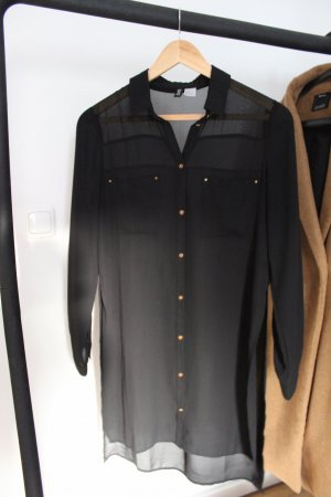 H&M Long Blouse black