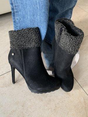 Blink Wysokie buty na obcasie czarny