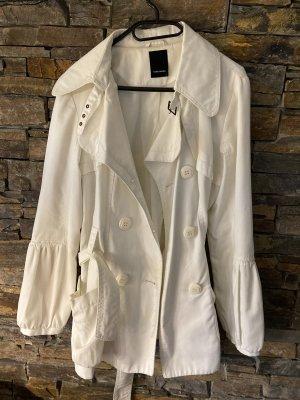 Vero Moda Kurtka przejściowa w kolorze białej wełny-kremowy