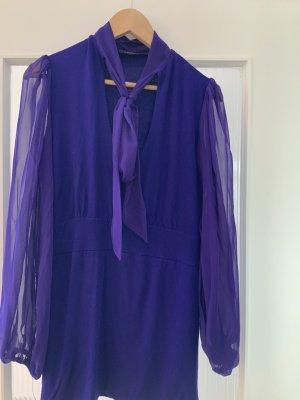 Asos Blouse longue violet foncé viscose