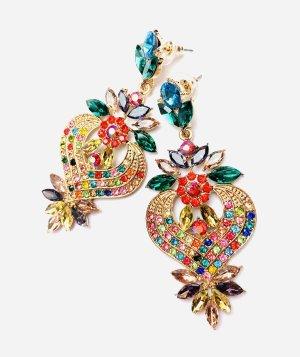 Bohemian Statement Earrings multicolored