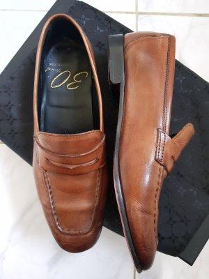 Melvin & hamilton Zapatos formales sin cordones marrón-coñac