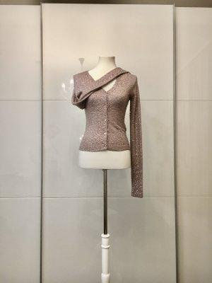 Barbara Schwarzer Pullover in cashmere color oro rosa-malva