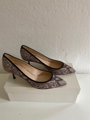 Casadei Pointed Toe Pumps multicolored leather