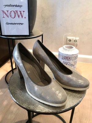 ara Classic Court Shoe light grey