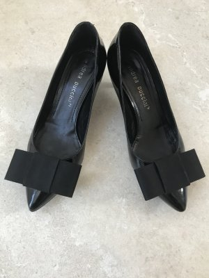 Andrea Puccini Pumps black leather