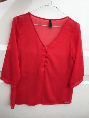 Schicke rote Bluse von Vero Moda