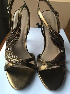 Lola cruz Strapped Sandals beige