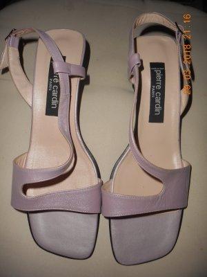 Schicke Sandaletten von PIERRE CARDIN PARIS - GRÖSSE 39 - NEU