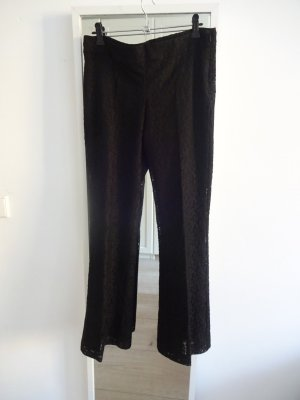 Mango Flares black cotton