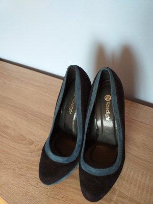 Belle Women High Heels slate-gray-petrol