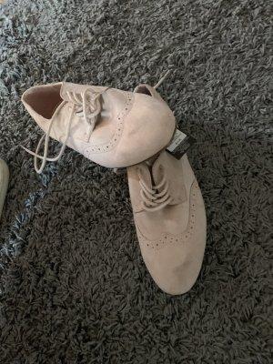 Primark Zapatos estilo Oxford rosa empolvado