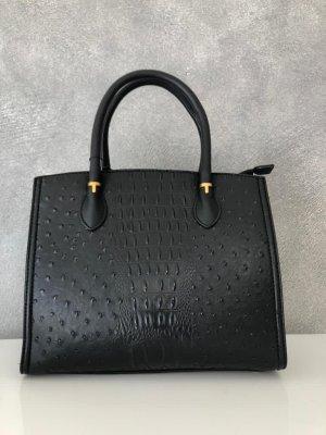 Schicke schwarze Handtasche