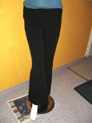 Schicke schwarze Hose, Basic Teil Anzugshose Gr. 38
