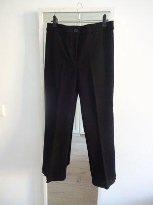 Amisu Pantalone a 7/8 nero Viscosa