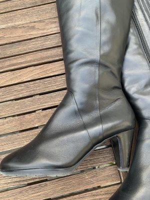Schicke schwarze Stiefel von högl, wie neu!