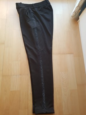 Schicke schwarze Stoffhose