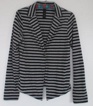Street One Veste chemise argenté-noir