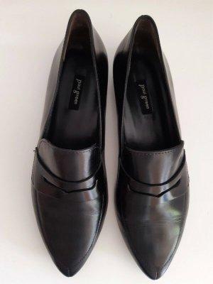Paul Green Zapatos formales sin cordones negro Cuero
