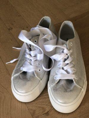 schicke sneaker in silber von vila 38