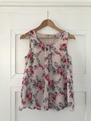 Only Mouwloze blouse veelkleurig