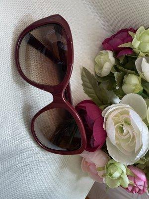 Nina ricci Gafas de sol ovaladas burdeos