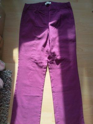 Stehmann Pantalone elasticizzato rosso lampone-magenta