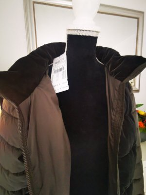 Gerry Weber Quilted Jacket dark brown