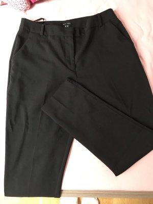 New Look Pantalón de pinza alto negro