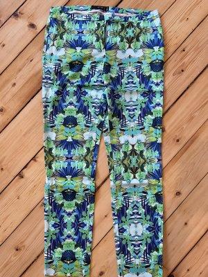 Hallhuber Jersey Pants multicolored